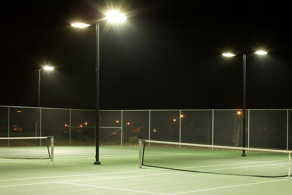 LED Tennisbaanverlichting